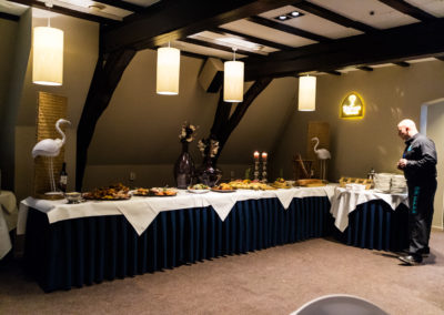Barbecue-Zaal-Buffet